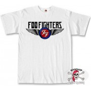 Футболка FOO FIGHTERS белая