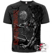 ФУТБОЛКА ТОТАЛЬНАЯ IRON MAIDEN - FEAR OF THE DARK (GRAPHITE T-SHIRT)