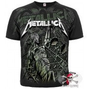 ФУТБОЛКА ТОТАЛЬНАЯ METALLICA - AND JUSTICE FOR ALL (GRAPHITE T-SHIRT)