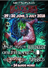 БИЛЕТ НА BLACK SEA METAL FESTIVAL. ЧЕРНОМОРСК. 29.06-01.07.2018