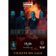 БИЛЕТ НА DISTURBED. FAN. Киев. 18.06.2019