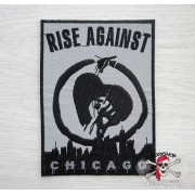 НАШИВКА RISE AGAINST (CHICAGO)
