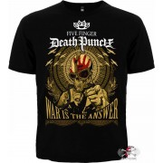 ФУТБОЛКА FIVE FINGER DEATH PUNCH - WAR IS THE ANSWER