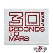 Нашивка вышитая 30 seconds to mars