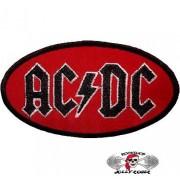 Нашивка вышитая AC-DC овал