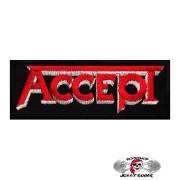 Нашивка вышитая Accept Red Logo