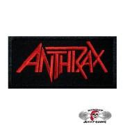 Нашивка вышитая Anthrax Logo
