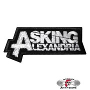 Нашивка вышитая Asking Alexandria