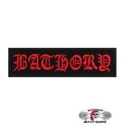 Нашивка вышитая Bathory Red