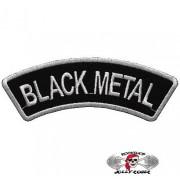 Нашивка вышитая Black Metal