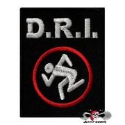 Нашивка вышитая D.R.I. Logo