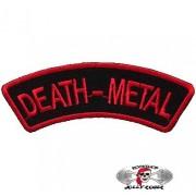 Нашивка вышитая Death Metal