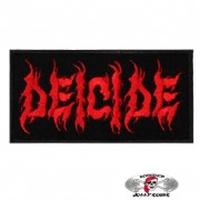 Нашивка вышитая Deicide