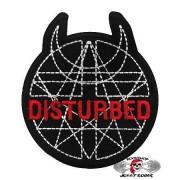 Нашивка вышитая Disturbed