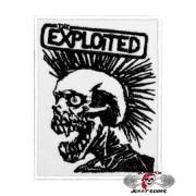 Нашивка вышитая Exploited White