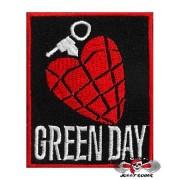Нашивка вышитая Green Day