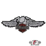 Нашивка вышитая Harley Davidson орёл большой