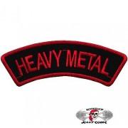 Нашивка вышитая Heavy Metal