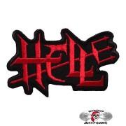 Нашивка вышитая Hell