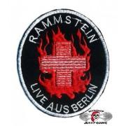 Нашивка вышитая Rammstein - Live Aus Berlin