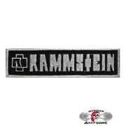 Нашивка вышитая Rammstein Logo