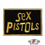 Нашивка вышитая Sex Pistols