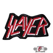 Нашивка вышитая Slayer вырезанная