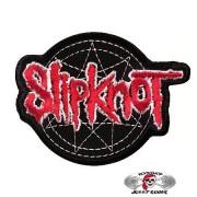 Нашивка вышитая Slipknot вырезанная