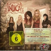 CD + DVD Indica ‎– A Way Away