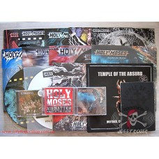 Vinyls + CD's Holy Moses & Temple Of The Absurd (14 vinyls + 4 CD's)