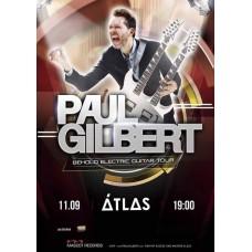 БИЛЕТ НА PAUL GILBERT. Киев. 11.09.2019
