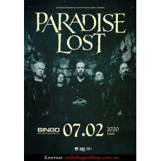 Квиток на Paradise Lost. Київ. 07.02.2020