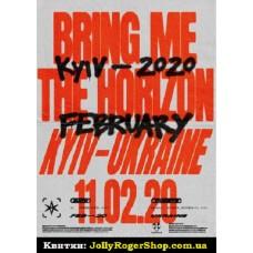 Квиток на BRING ME THE HORIZON, фан-зона. Київ. 11.02.2020