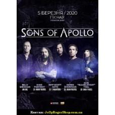Квиток на Sons Of Apollo. Київ. 05.03.2019