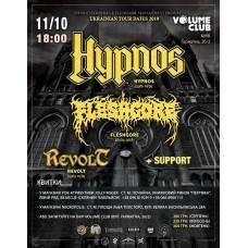 БИЛЕТ НА Hypnos (Cz), Fleshgore, Revolt + support. Киев. 11.10.2019