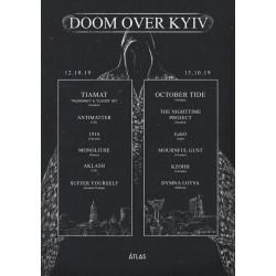 БИЛЕТ НА Doom Over Kyiv 2019. Киев. 12-13.10.2019