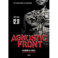 БИЛЕТ НА Agnostic Front. Киев. 12.11.2019