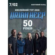 Квиток НА Uriah Heep. Київ. 07.02.2020